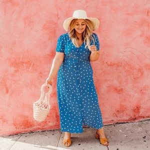 Blue Lemons Dress